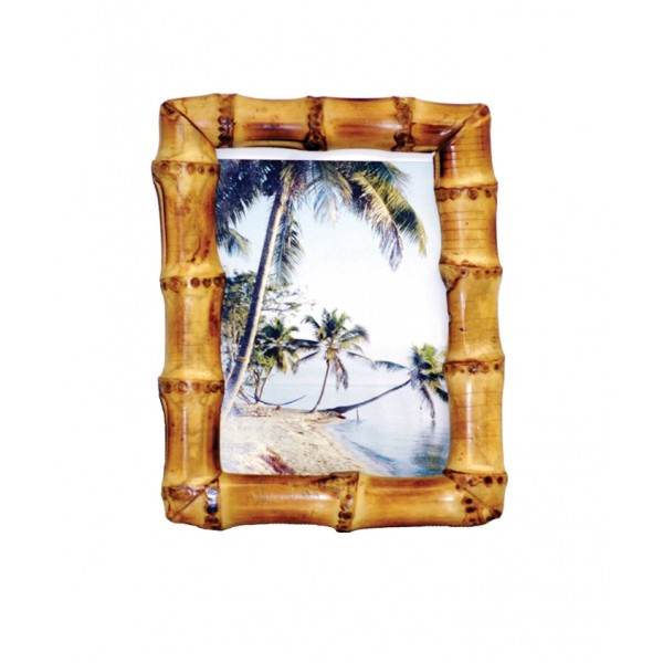 Bamboo Root Natural Picture Frame