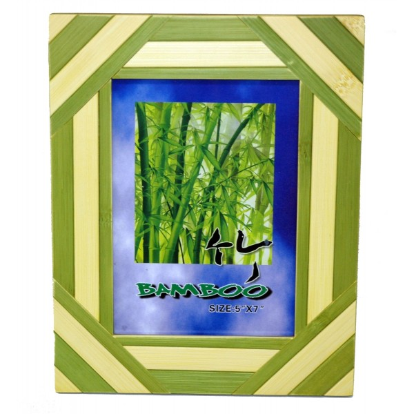 Bamboo Seasons Green Picture Frame 5 X 7