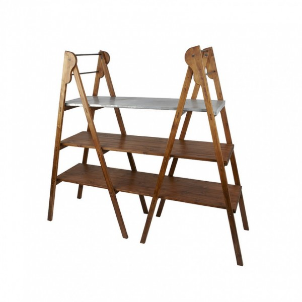 Double Library Ladder, Saddle