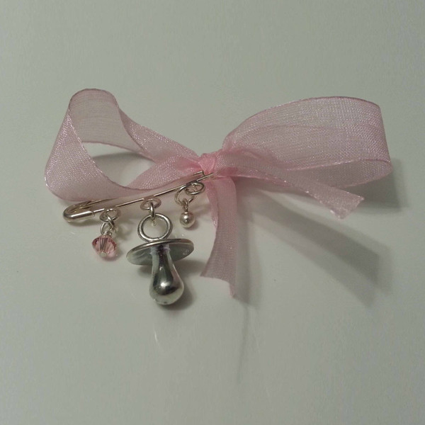 Beautiful Solid Silver hand made baby girl shower gift