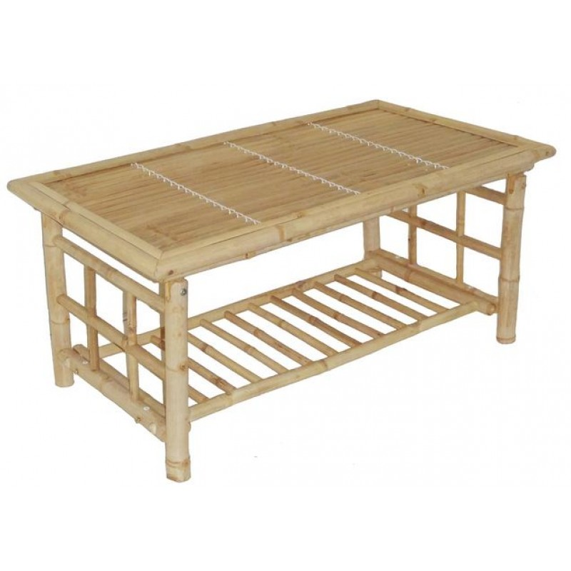 Bamboo Folding Coffee Table